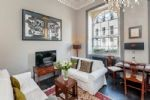 Enjoy the views from the large sash Georgian windows