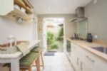 Kitchen through to private garden